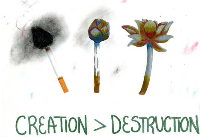 Creation > Destruction